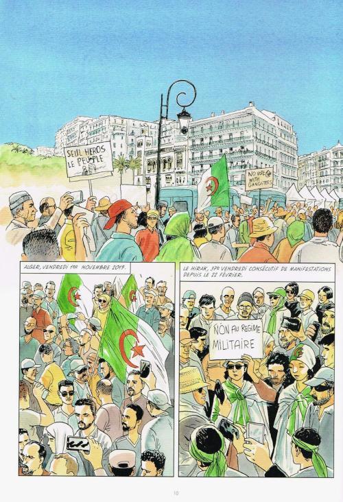 Suites algeriennes planche