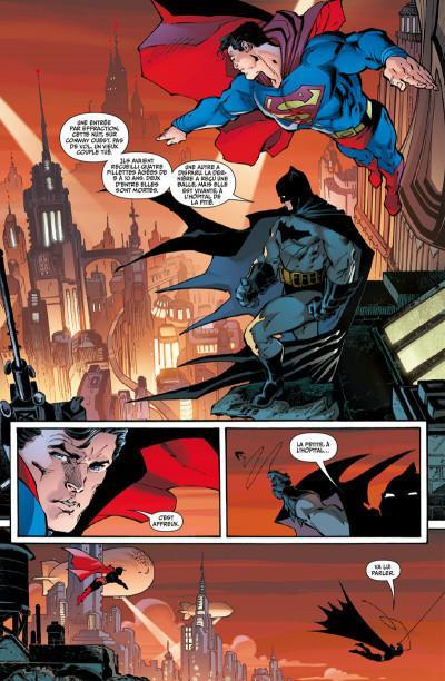 Superman up in the sky planche gotham