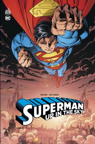 Superman up in the sky