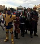Thanos et les gardiens de la galaxie