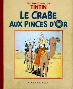 Tintin le crabe aux pinces d or