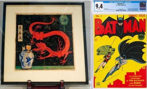 Tintin vs batman