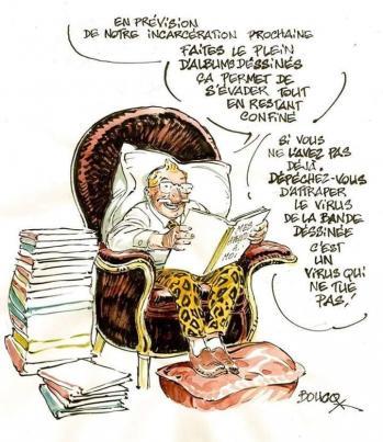 Virus de la bd par François Boucq