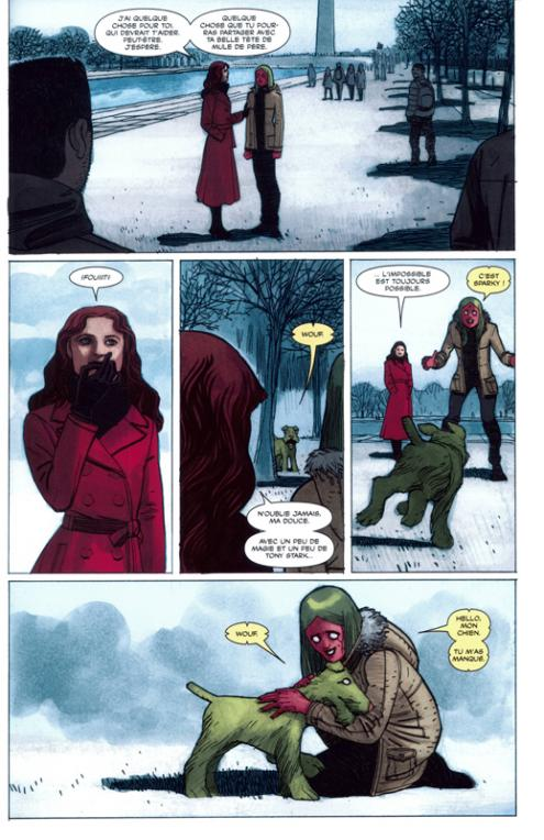 Vision 2 planche scarlet witch