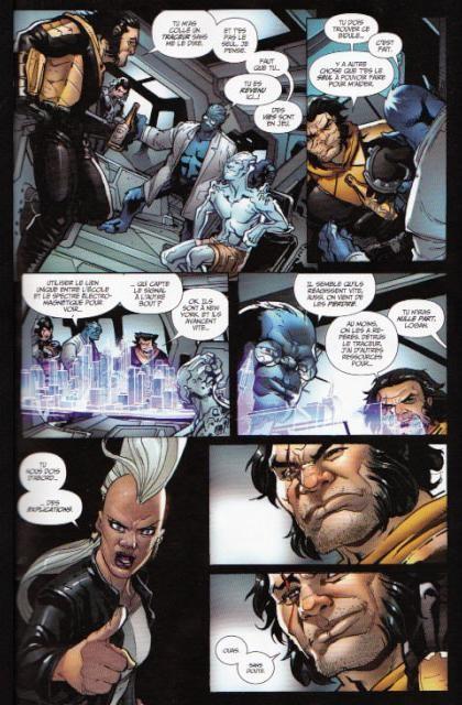 Wolverine serie 4 22 planche