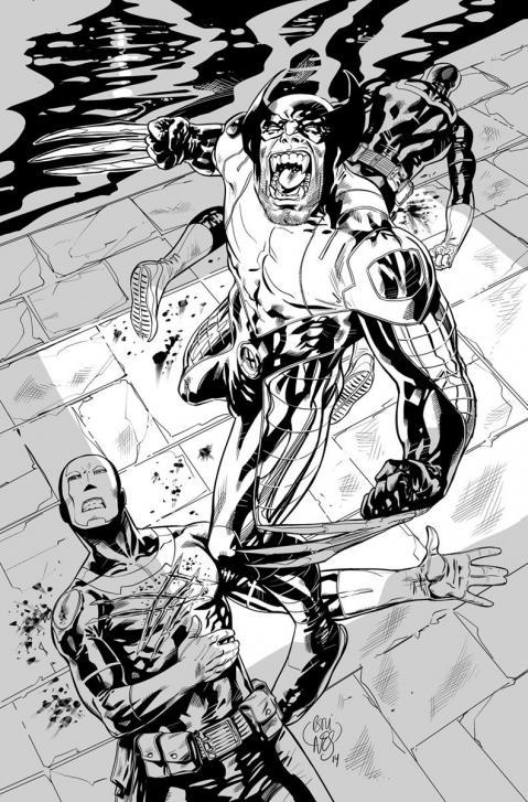 Wolverine vs hellfire club