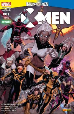X men 1 vs inhumains